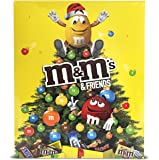 M&M Friends Schokoladen-Adventskalender 24 Portionsbeutel, 1er Pack (1 x 100 g)