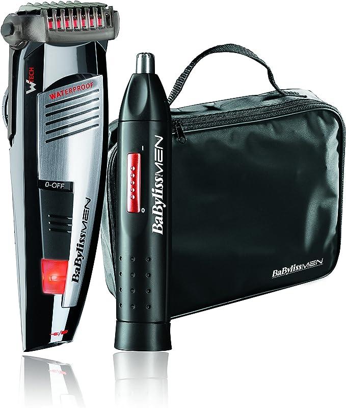 BaByliss E846FPE - Kit de barbero y naricero: Amazon.es: Salud y ...