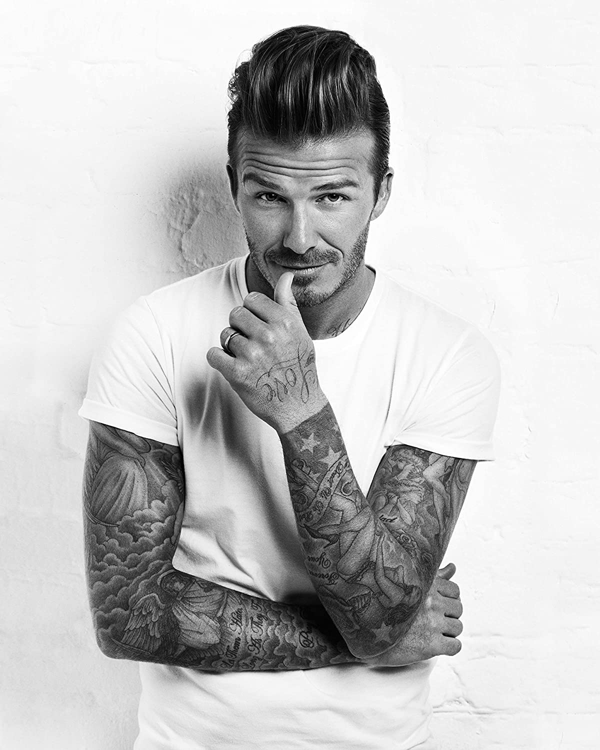 Amazon.com: David Beckham Poster Sexy Hot Guys Room Wall Art Decor High  Quality 16x20 Inches: Posters & Prints