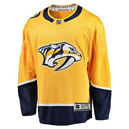 NHL Team Apparel Nashville Predators NHL Premier Youth Replica Home Hockey  Jersey (S M 53f9ea9df