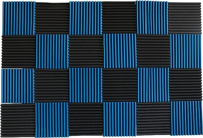 Parent – 24 Pack – Paneles de acústica Studio espuma de insonorización cuñas 1