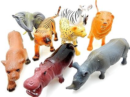 Action Figures Animals & Dinosaurs Nature World Giraffe Toy Safari Animal Figurine Used Condition Customers First