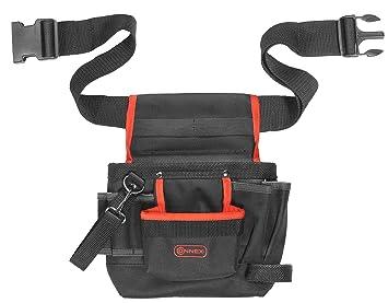 Connex COX952054 Bolsa con correa para herramientas (8 compartimentos)