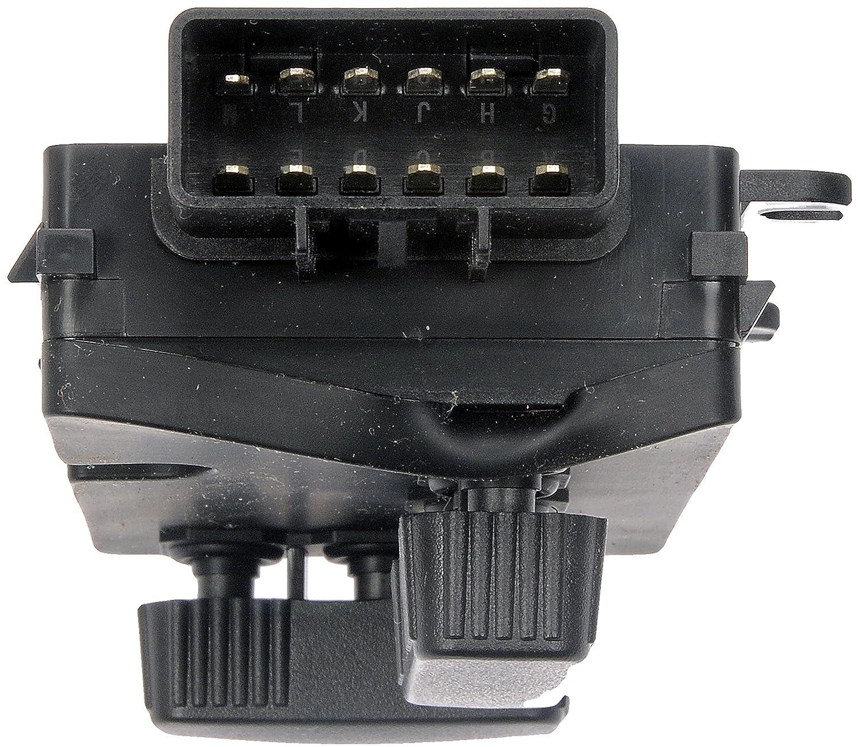 Dorman 901-201 Passenger Side 8-Way Power Seat Switch