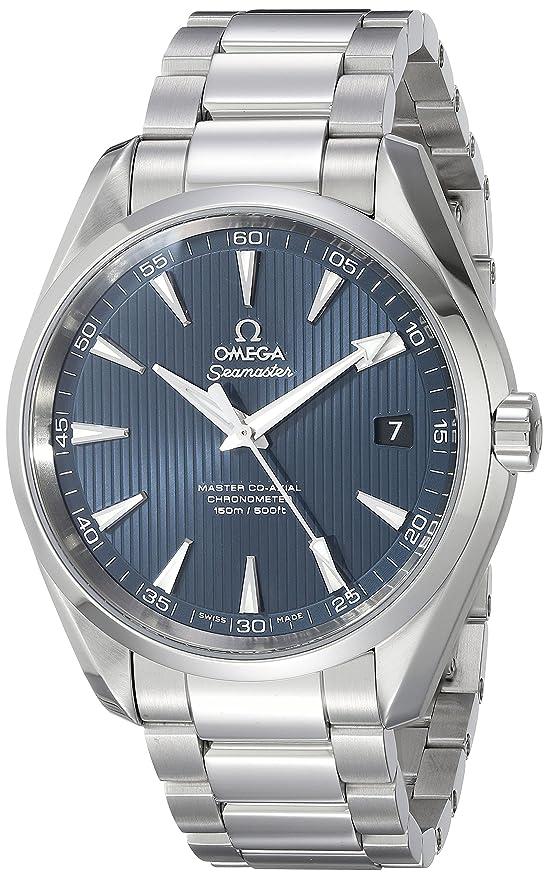 Omega Seamaster Aqua Terra 150 M - Reloj (Reloj de Pulsera, Masculino, Acero, Luz metálico, Acero, Luz metálico): Amazon.es: Relojes