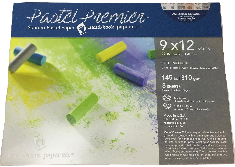 Pastel Premier Sanded Pastel Paper 9X12 Asst GLOBAL ART MATERIAL