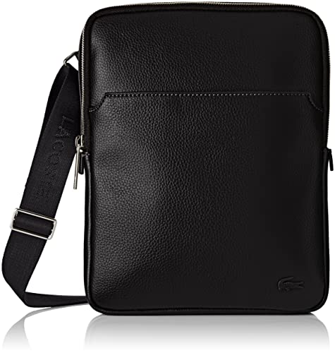 0cc720de0 Lacoste Men's NH1741GL Cross-Body Bag, (Black), 26 x 3.5 x 20 cm ...