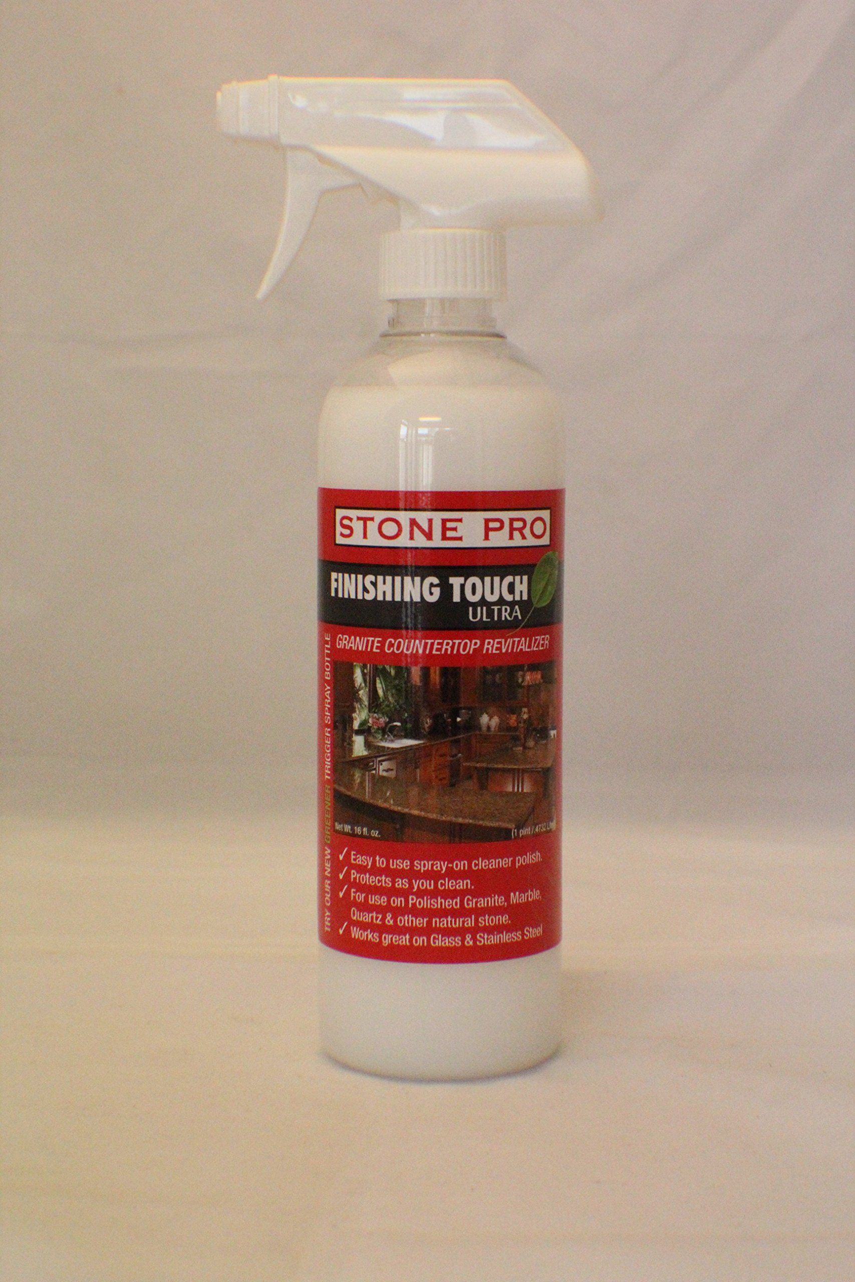 Stone Pro Finishing Touch Ultra - Granite Countertop Revitalizer - 16 oz. Spray