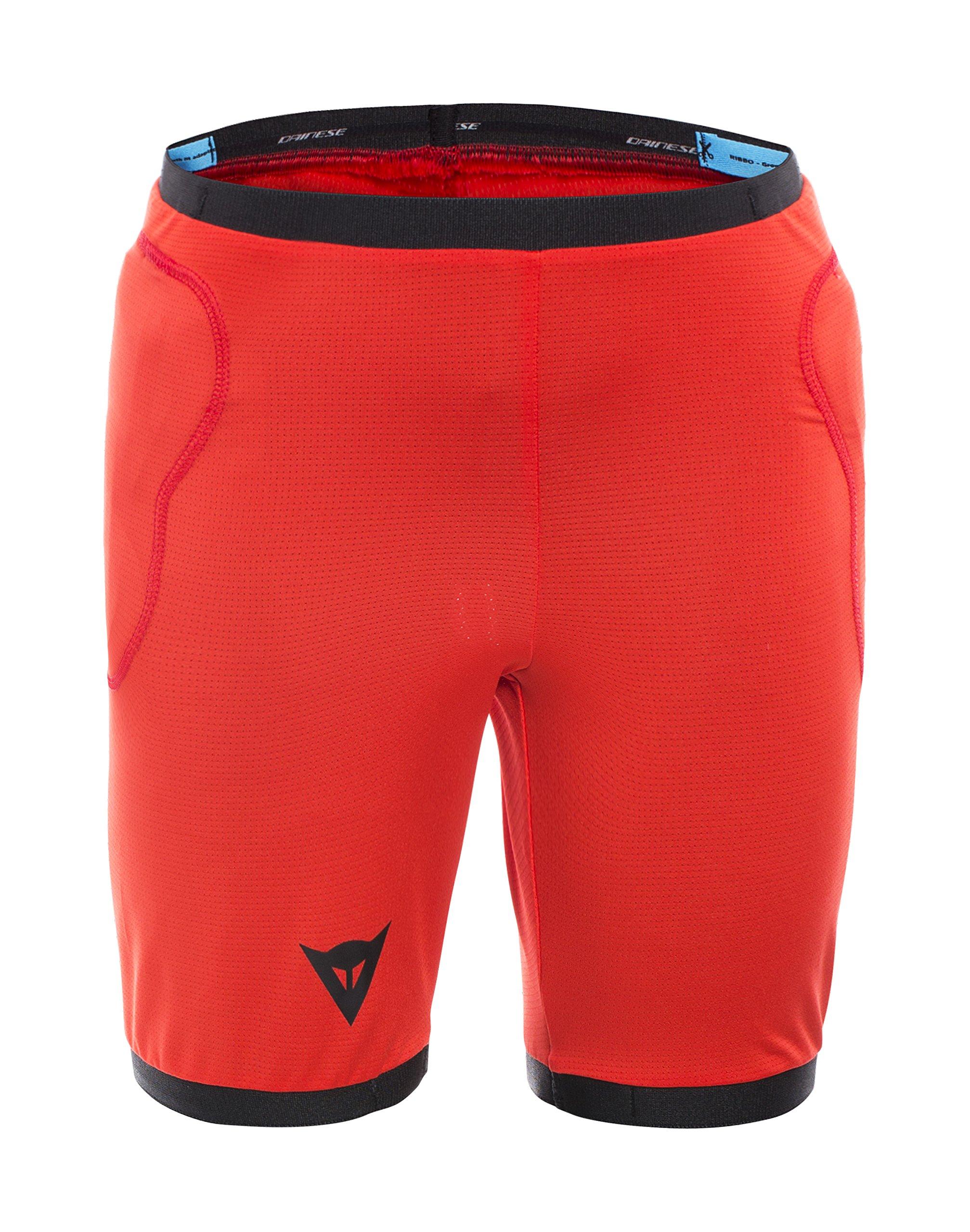 Dainese Boys Scarabeo Safety Shorts, Black/Red, Medium