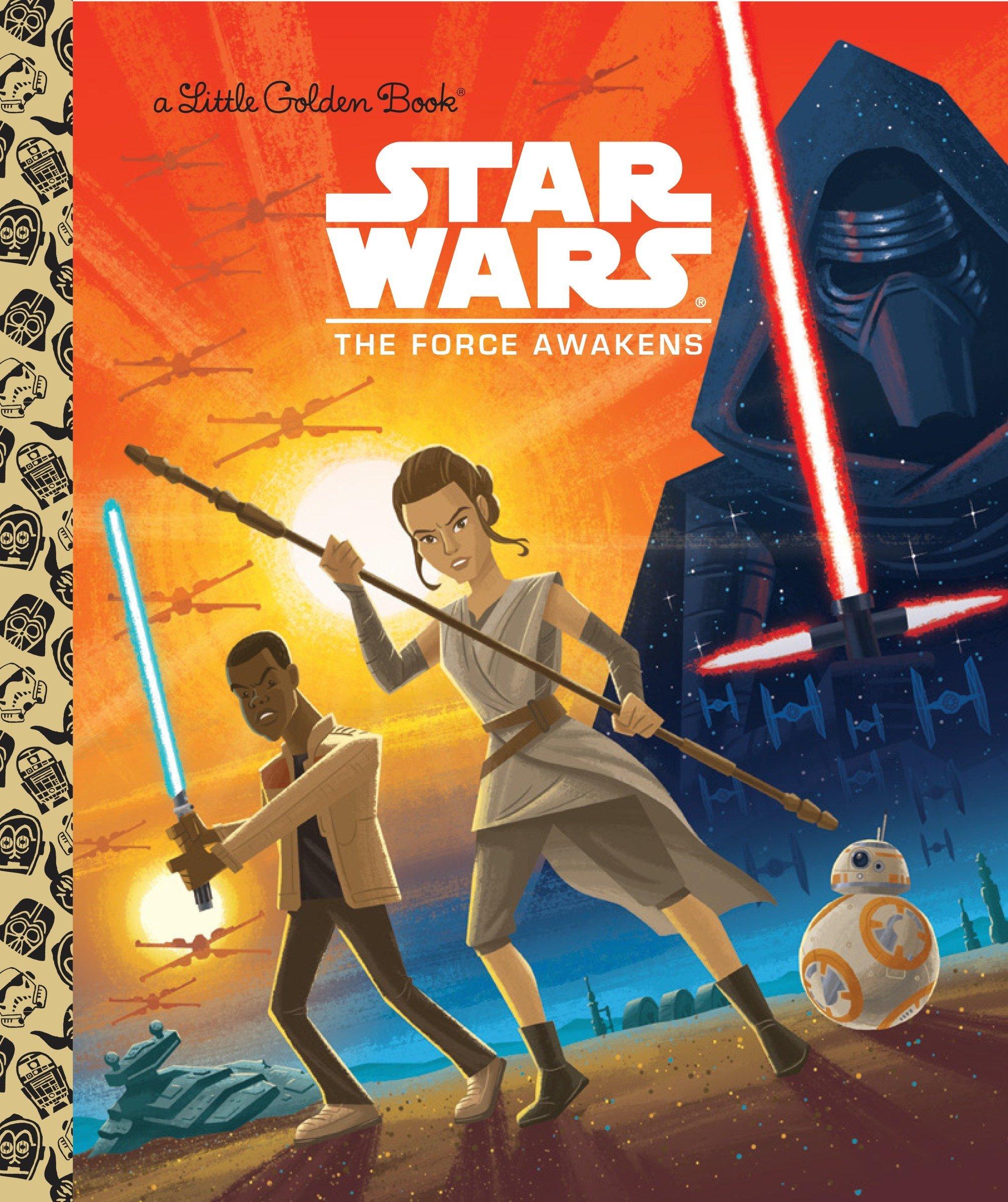 Star Wars: The Force Awakens: Golden Books, Caleb Meurer, Micky Rose:  9780736434911: Amazon.com: Books