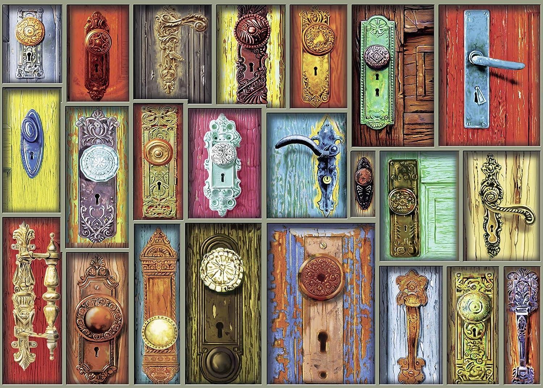 Ravensburger Antique Doorknobs-1000 Piece Jigsaw Puzzle 19863