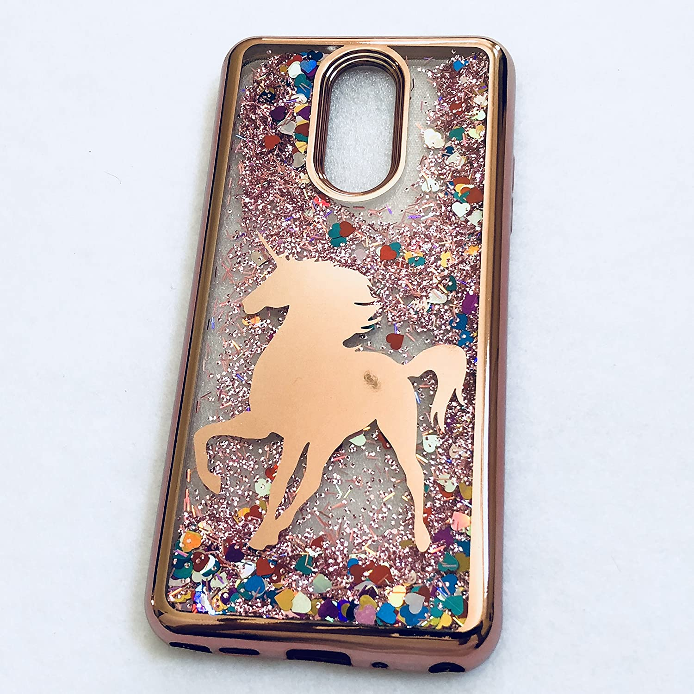 Liquid Glitter Unicorn Phone Case