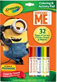 Crayola Despicable Me Coloring & Activity Pad with Markers Toy