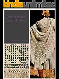 Heart Heart Shawl: Vintage 1970s Crochet Wedding Bridal Pattern