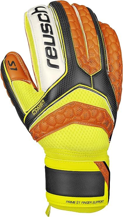 a592ecf8e Amazon.com   Reusch Soccer Pulse S1 Finger Support Goalkeeper Glove ...