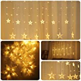 Areskey Star Christmas Lights,138 LED 12 Star
