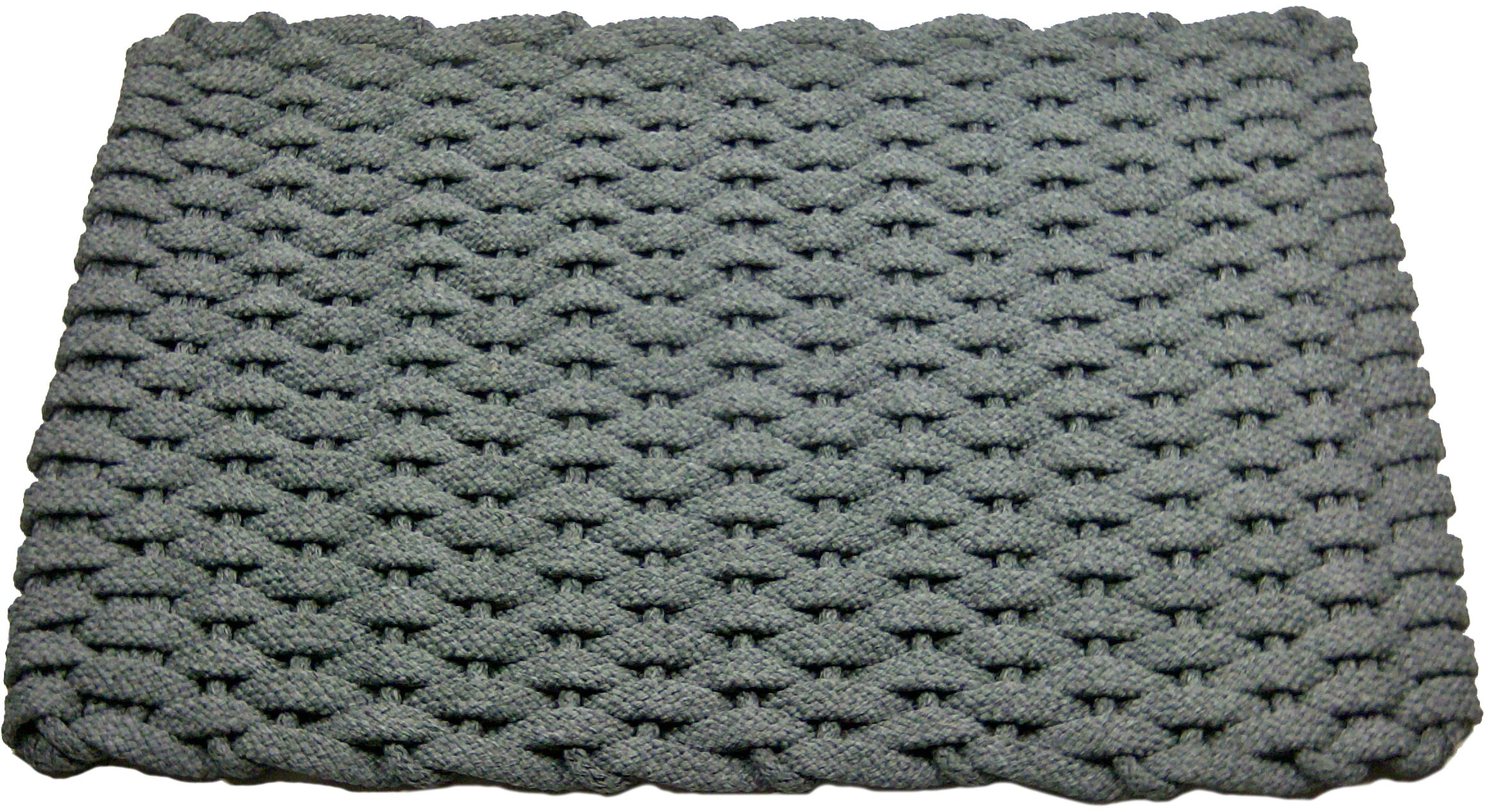Rockport Rope Doormats 2038206 Kitchen Comfort Mats, 20 by 38-Inch, Gray