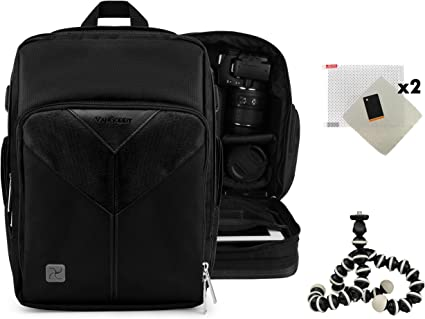 Sparta Backpack Protective Carrying Bag for Canon EOS 40D 400D 450D Digital Rebel XTi Kiss X2 Digital X
