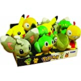 Tomy Pokémon - T71993 - Petite Peluche Pokémon de Série II - Lot de 10 - Coloris aléatoire