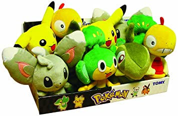 "Pokemon - Basic Plush - 8""/20cm - Pansage - 3 Years+ - Tomy"