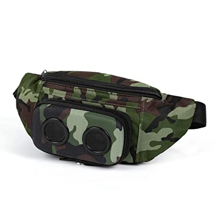 683060955baf The #1 Fannypack with Speakers. Bluetooth Fanny Pack for  Parties/Festivals/Raves/Beach/Boats. Rechargeable, Works with iPhone &  Android. #1 ...