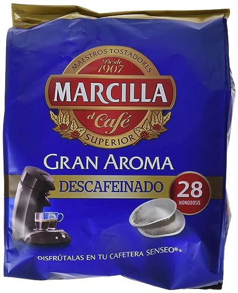Marcilla Gran Aroma Descafeinado - 28 monodosis compatibles con ...
