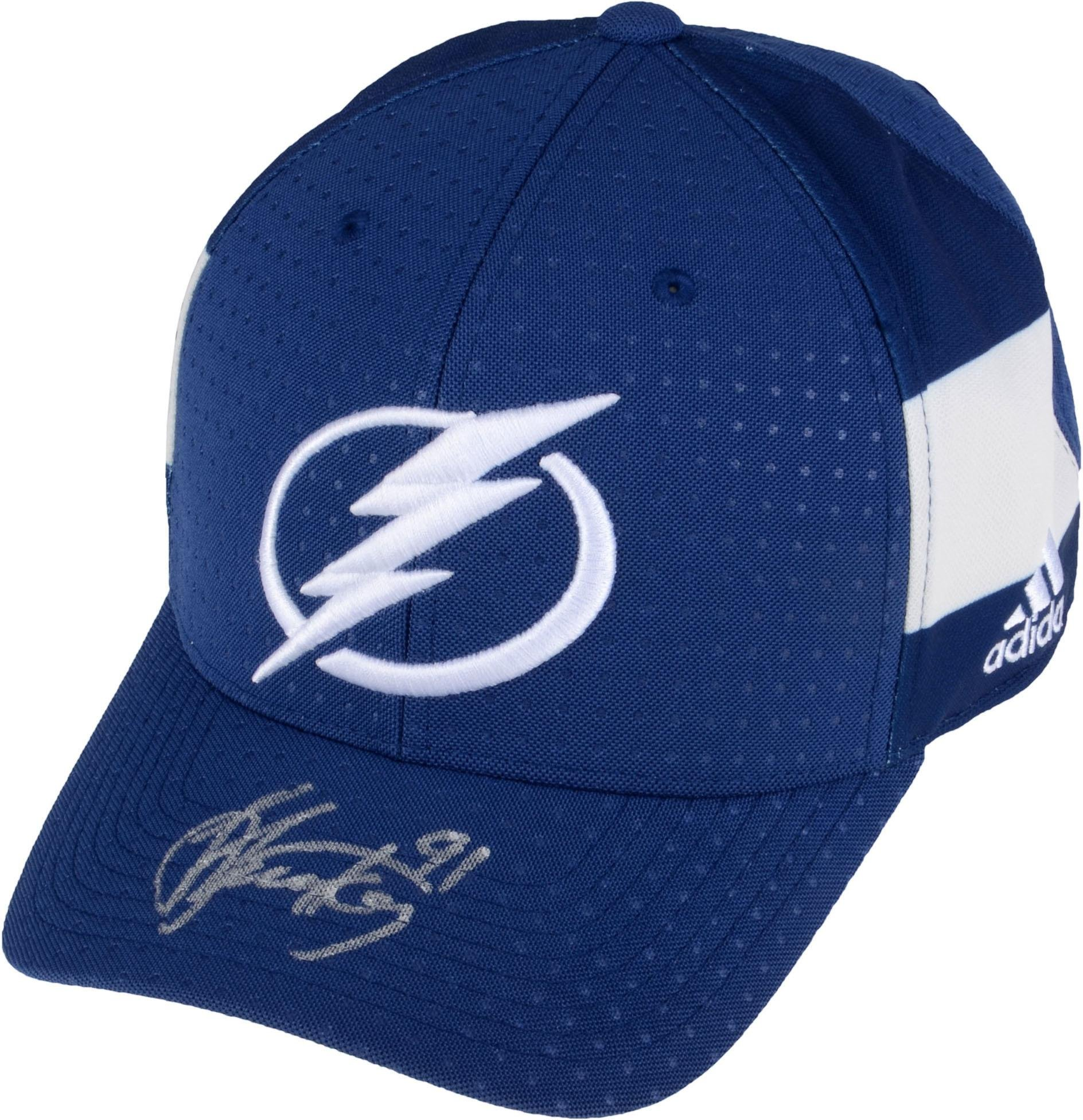 Steven Stamkos Tampa Bay Lightning Autographed Adidas Cap Fanatics Authentic Certified Autographed NHL Hats