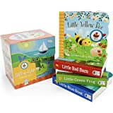 Nature Friends: Slipcase 4-Pack Including Little Blue Boat, Little Green Frog, Little Yellow Bee, and Little Red Barn