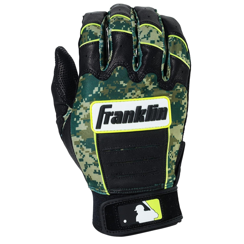 Franklin Sports MLB CFX Pro Digiシリーズ バッティンググローブ B01IUV9BXW Small|Pearl/Green Camo Pearl/Green Camo Small