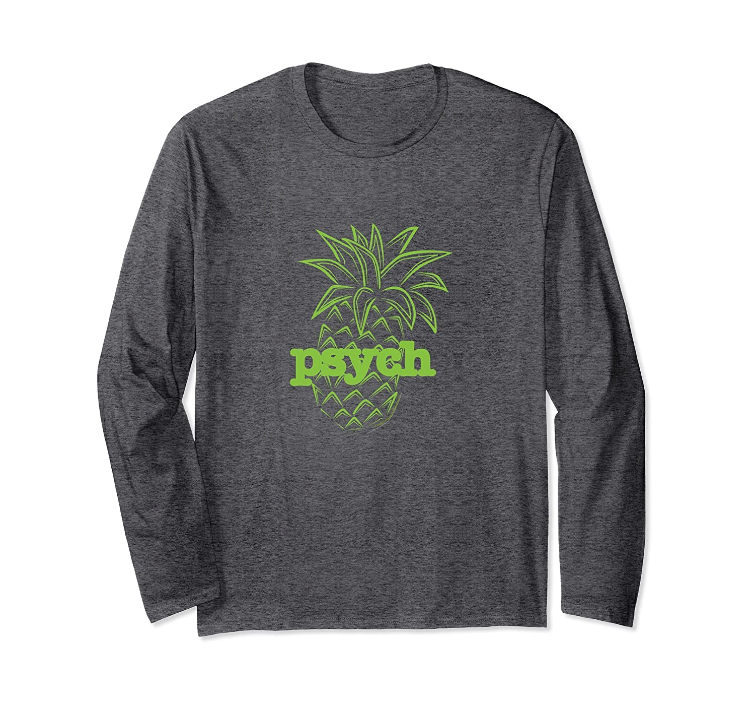 ccf17ddea Psych Pineapple Awesome Long Sleeve T-Shirt-ah my shirt one gift ...