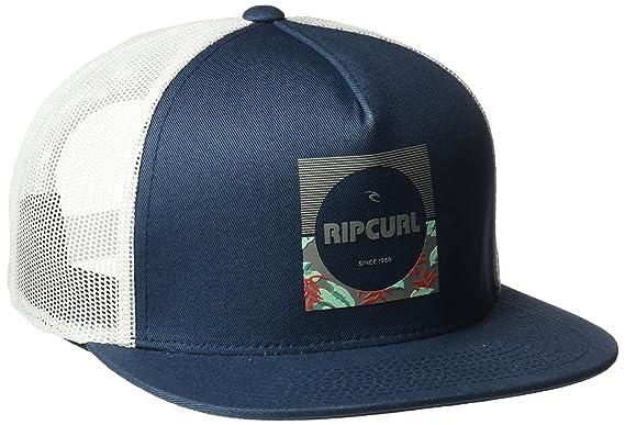 0912ff6488daf Rip Curl Mens Combine Trucker Baseball Cap - Blue -  Amazon.co.uk  Clothing