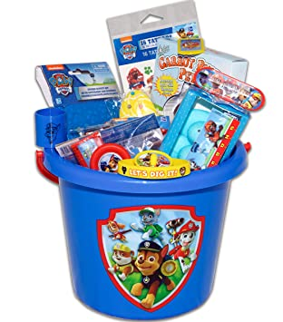 Amazon paw patrol easter basket toys and candy toys games paw patrol easter basket toys and candy negle Image collections