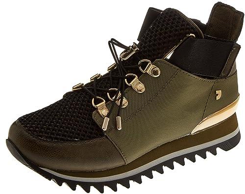 30915, Sneakers Basses Femme, Marron (Kaki), 39 EUGioseppo