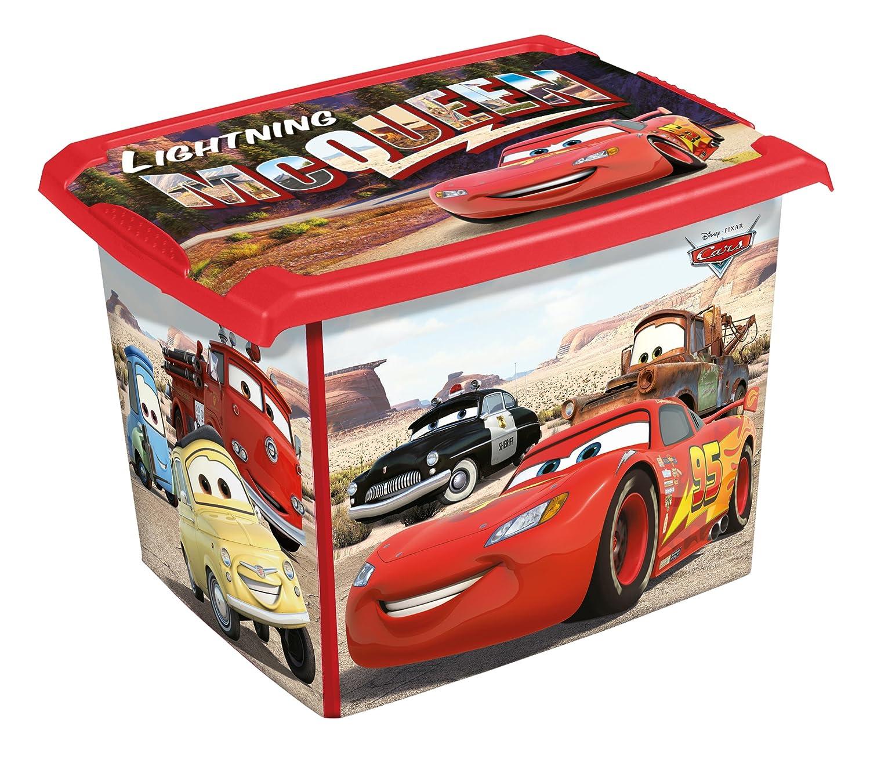 2er Set Fashion Box Disney Cars 20L + 10L Aufbewahrungsbox Spielzeugkiste keeeper
