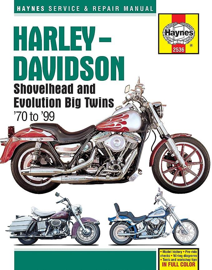 Amazon Haynes 2536 Mc Harley Shovelhead7099 Automotiverhamazon: Harley Davidson 1983 Shovelhead Wiring Free Diagram At Gmaili.net