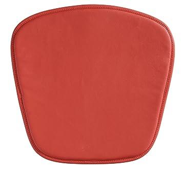 Zuo Modern Wire/Mesh Chair Cushion, Red