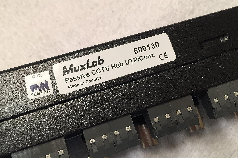 Inc 500130 Passive CCTV Hub MuxLab UTP//Coax