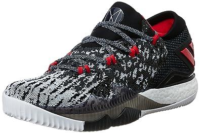 82dccb12 Adidas Men's Crazylight Boost Low 2016 Pk Dgsogr, Ftwwht and Cblack Basketball  Shoes - 7