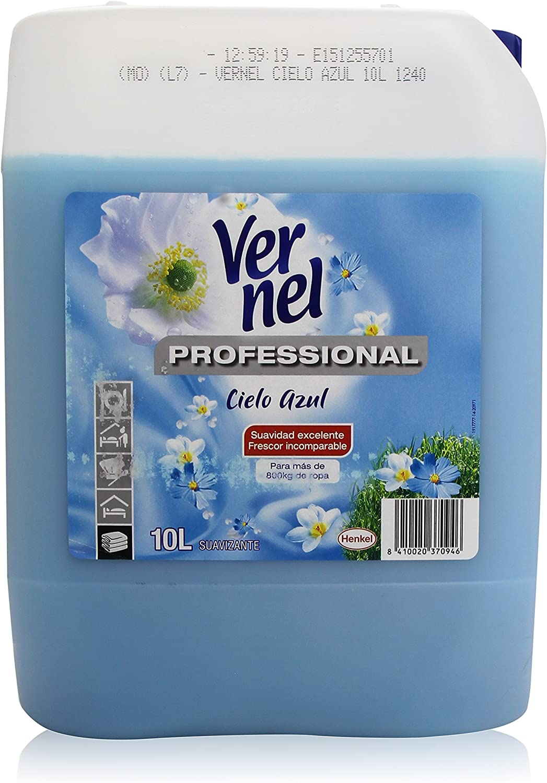 Vernel - Professional Suavizante - Cielo Azul - 10 l: Amazon.es ...