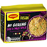 MAGGI Fusian Noodles Mi Goreng Soy & Mild Spice, 5 Pack 360g