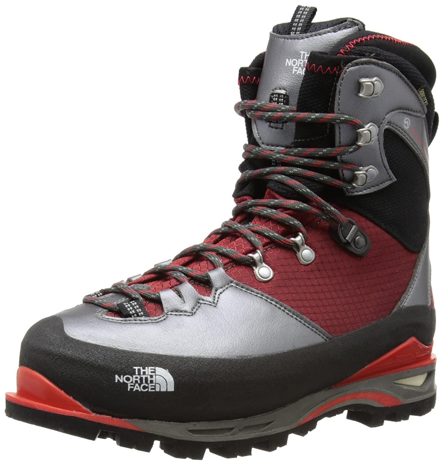 210af9120 The North Face Verto S6K Glacier GTX Boot - Men's Tnf Black/Tnf Red ...