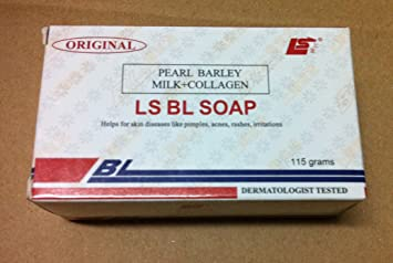 Original Ls Bl Soap Pearl Barley Milk Collagen 115g By Bl Soap