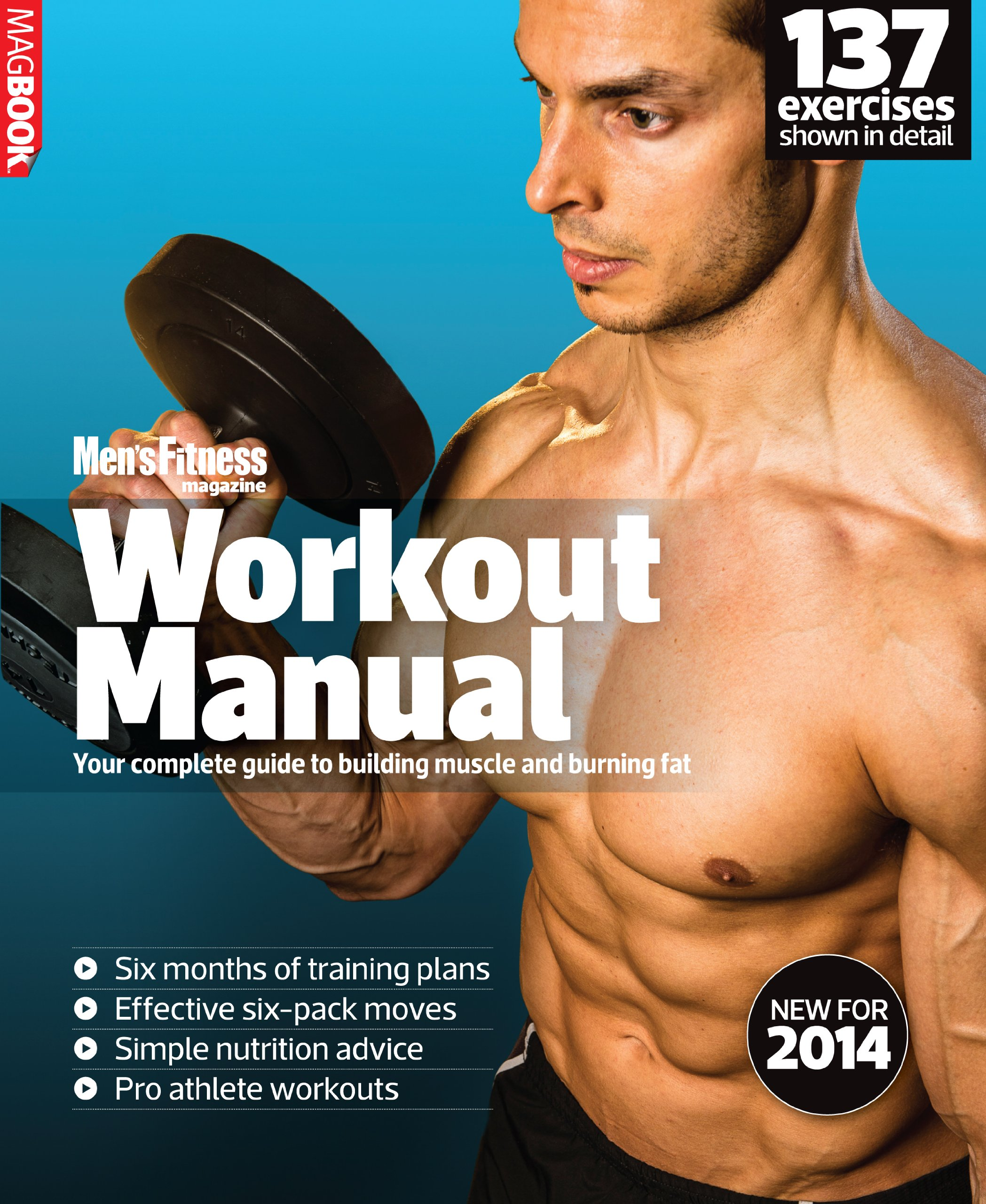 Men's Fitness Workout Manual 2014 MagBook pdf
