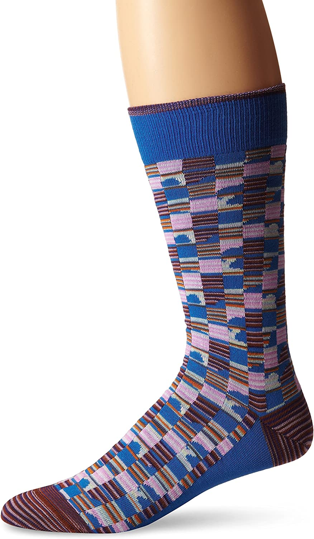 Robert Graham Mens Cabrillo Crew Sock