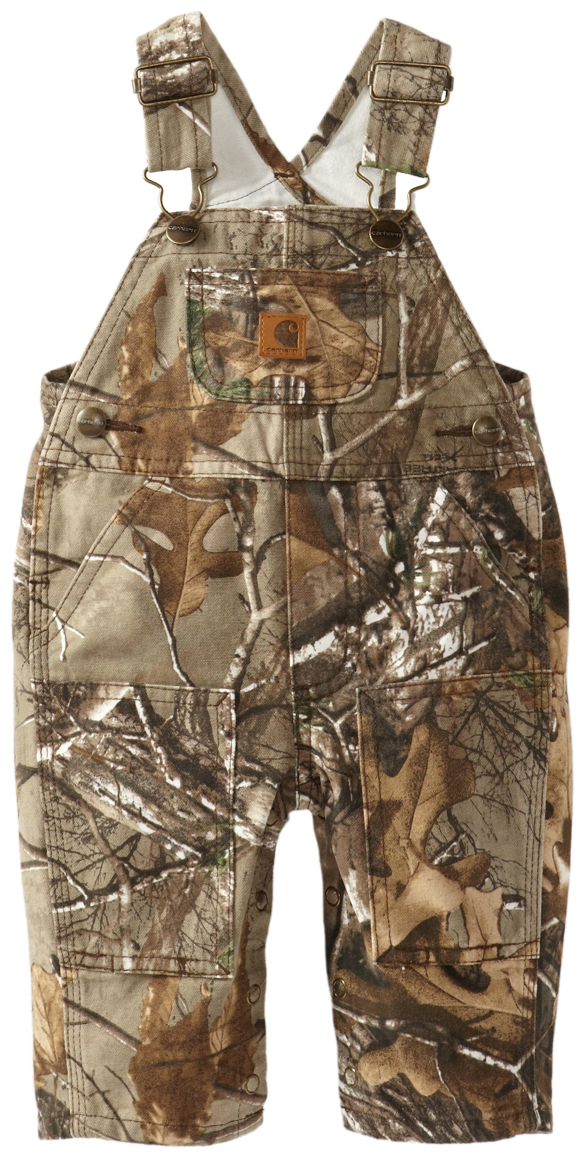 92fc6492 Amazon.com: Carhartt Boys' Camo Canvas Bib Overall (Various Sizes): Infant  And Toddler Overalls: Clothing