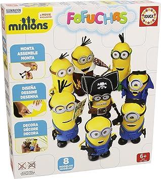 Educa Borrás Fofuchas - Set con diseño Minions 16577: Amazon.es: Juguetes y juegos
