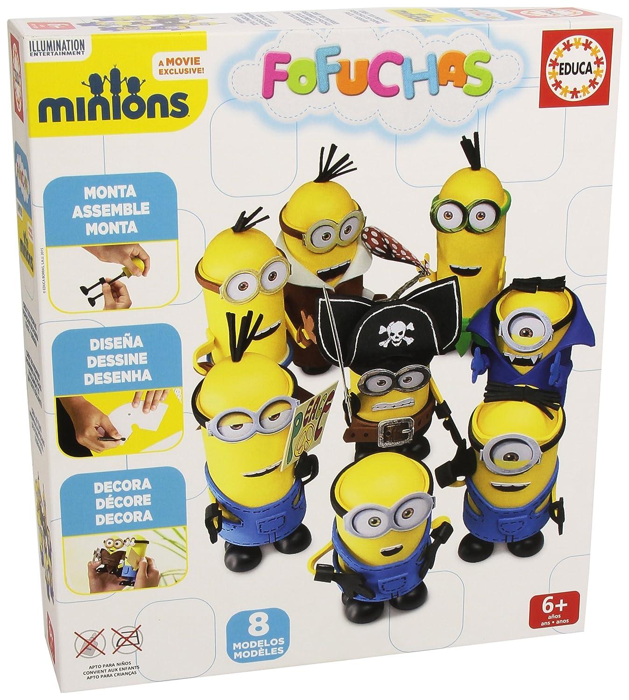 Fofuchas Set con diseño Minions Educa Borras
