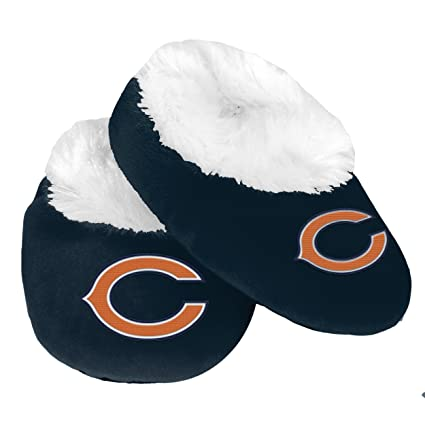 ec05656d Chicago Bears Logo Baby Bootie Slipper Extra Large