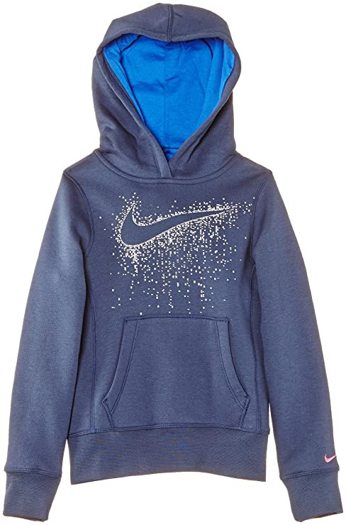 Nike Young Athletes 76 Graphic Brushed Fleece Over The Head Hoody - Sudadera de fitness para