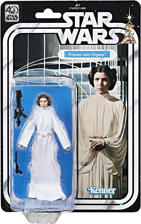 Star Wars - Figura de la Princesa Leia Organa del 40 Aniversario del Episodio IV (Hasbro C1693EU40)